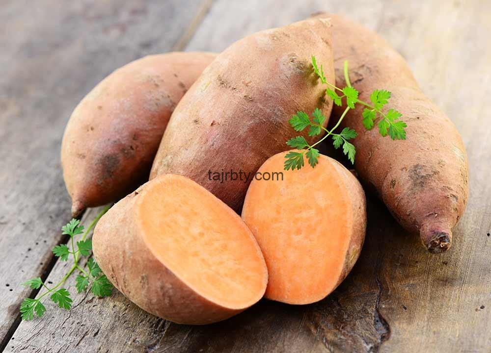 تجربتي مع البطاطا الحلوة