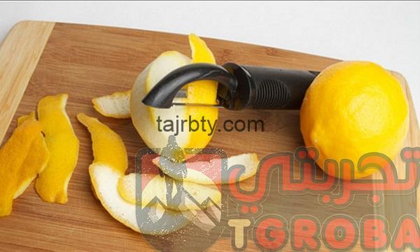 قشر الليمون للتنحيف مجرب