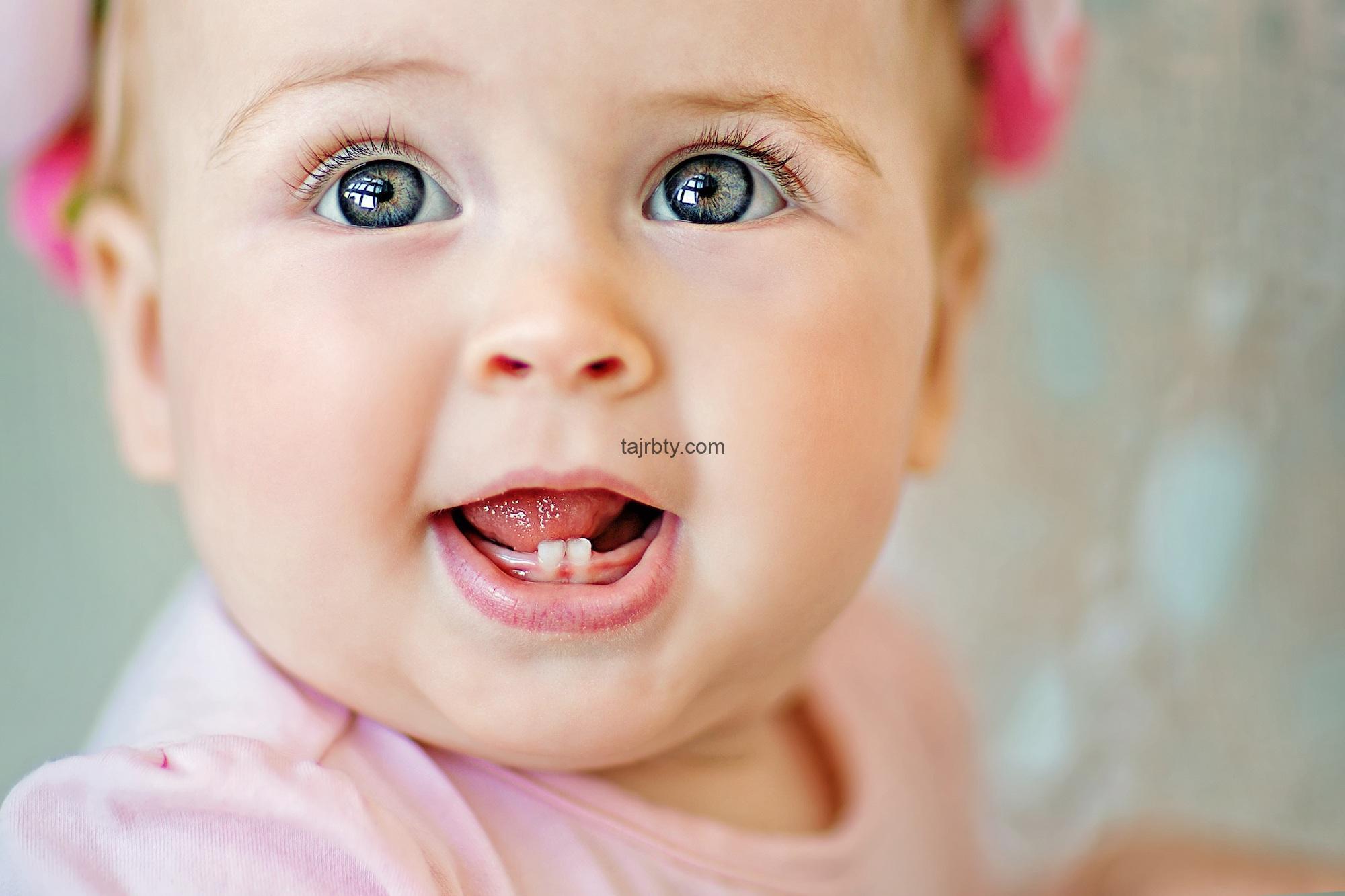 التسنين عند الرضع متى يبدأ